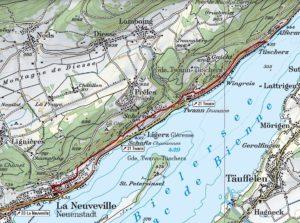 Unsere Wanderung von Tüscherz nach La Neuveville
