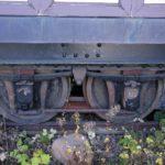 Drehgestell des Wagen Nr. 4 der RSB (Rigi-Scheidegg-Bahn)